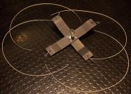 cross bar to lift Rhino-Rack Pioneer Platform from van--from materials on hand