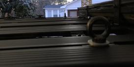 Rear lifting eye bolts