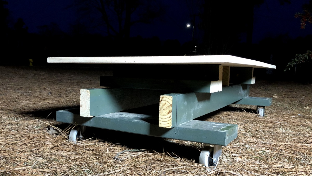 DIY [#38] ~ A Stand for the Lifted Rhino-Rack/Pioneer Platform, 01/03