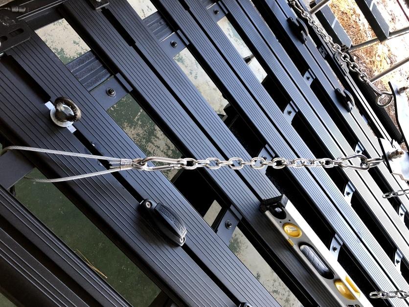 Loop around versus eye hook--safer