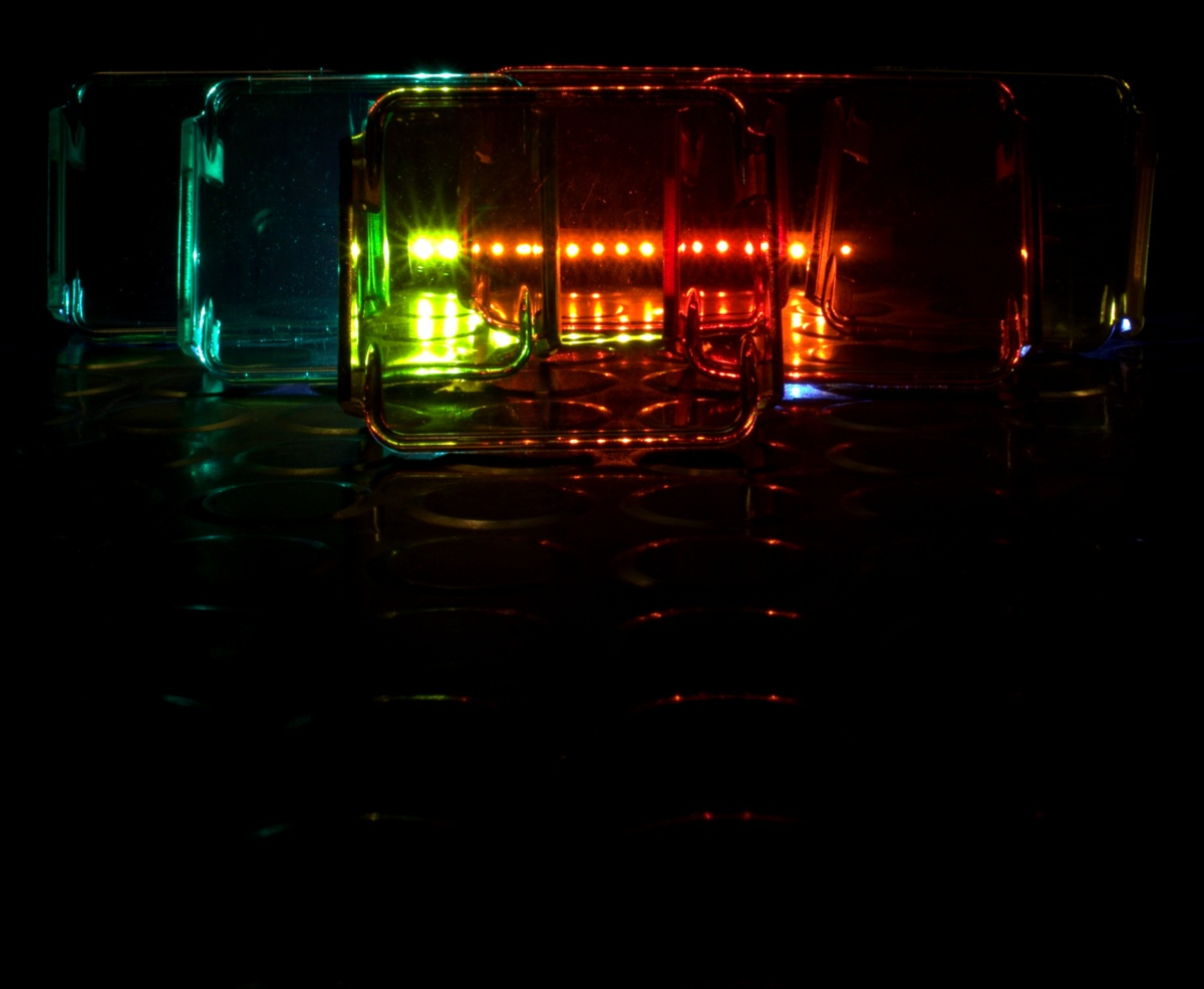 DIY [#37]–4-LED Cube Covers [Green, Red, & Amber], 01/21