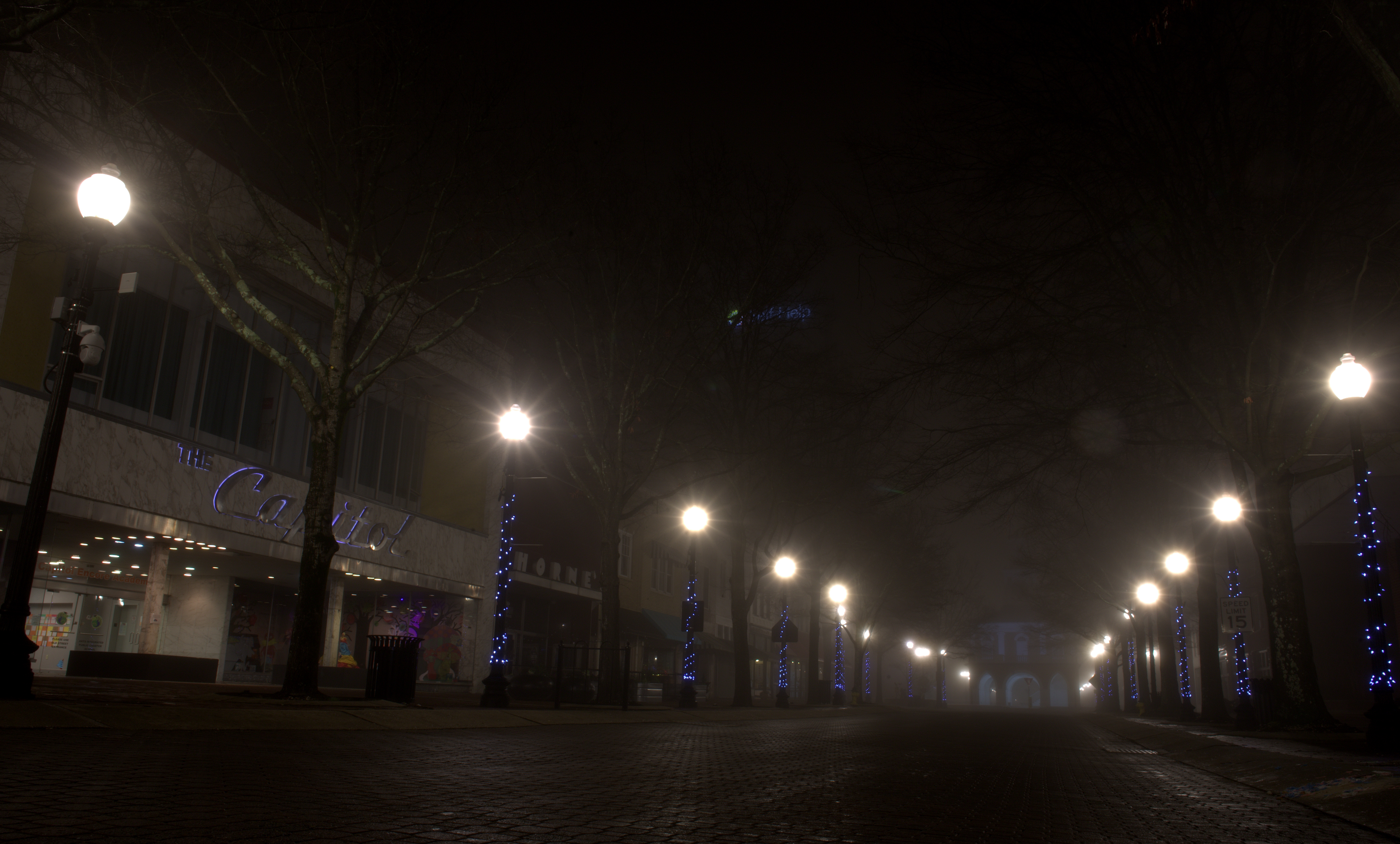 Photography ~ Foggy Morning in the 'ville–Hay Street, 02/20