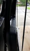 Passenger side wall straps