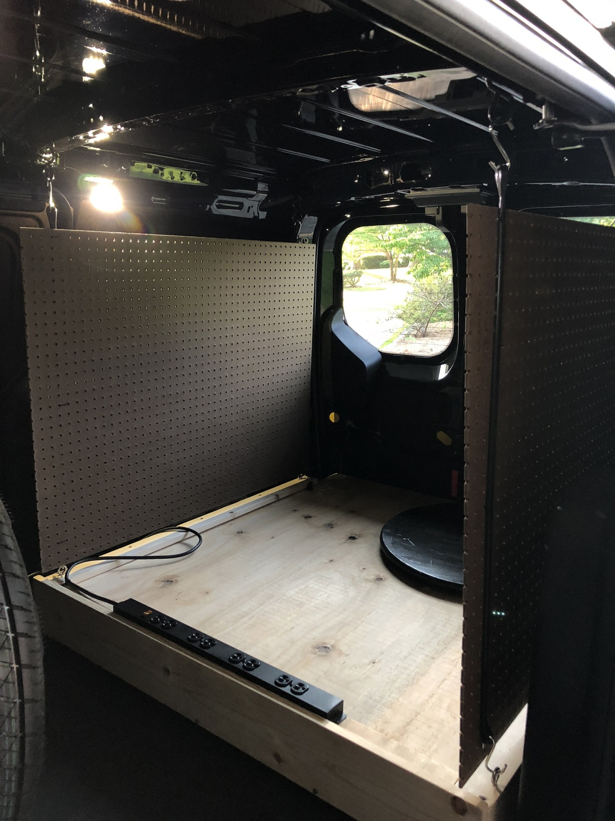 DIY ~ Ford Transit Connect XLT Van [rollout kitchen, now Phase II complete], 06/22