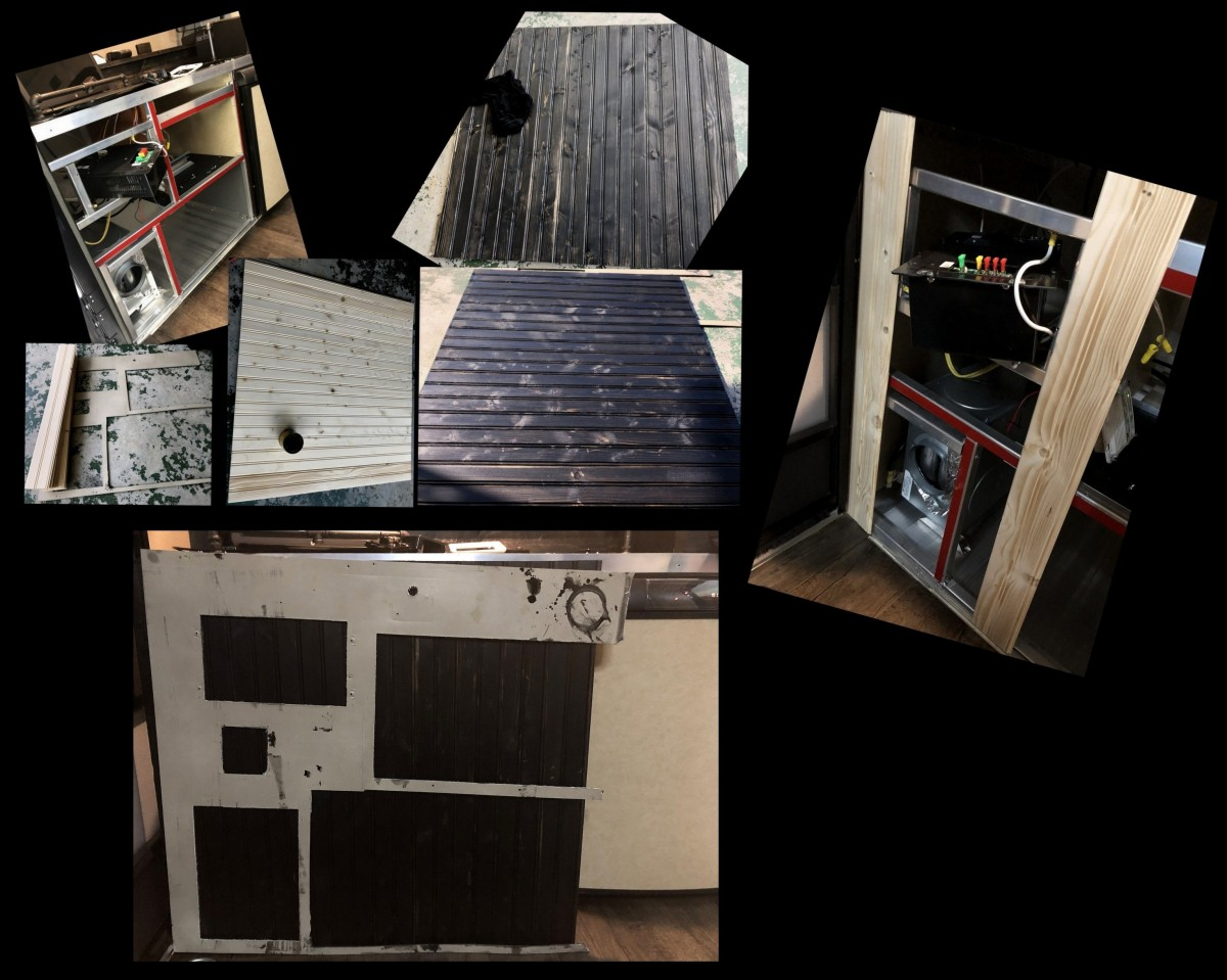 DIY ~ Micro-Lite Cargo-Go Lite Xtreme Trailer [Front WoodFacade]–06/14