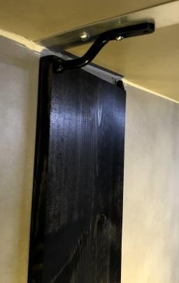Passenger-Side Nanoleaf Canvas [square panel light squares] Wing stowed