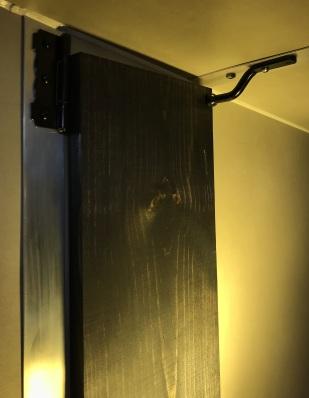 Driver-Side Nanoleaf Canvas [square panel light squares] Wing stowed