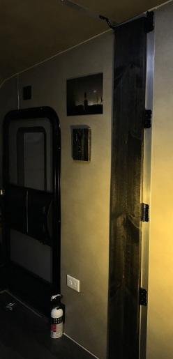 Perspective--Passenger-Side Nanoleaf Canvas [square panel light squares] Wing stowed