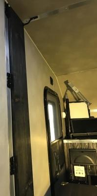 Perspective--Driver-Side Nanoleaf Canvas [square panel light squares] Wing stowed