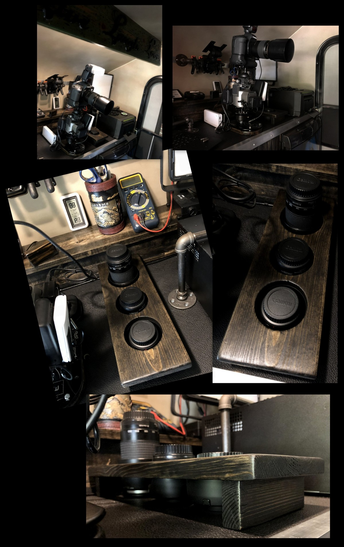 DIY ~ Micro-Lite Cargo-Go Lite Xtreme Trailer [Lens Caddy],07/15