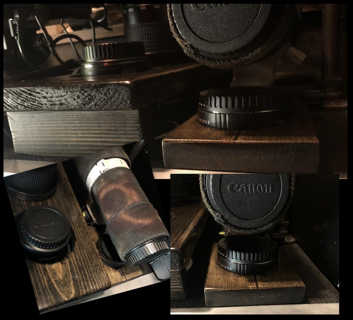 DIY ~ Micro-Lite Cargo-Go Lite Xtreme Trailer [TeleConverter Caddy],07/17