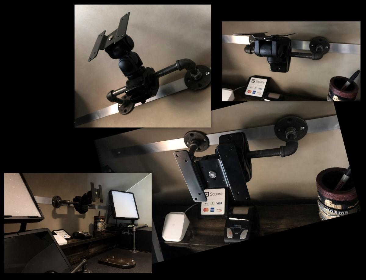 DIY ~ Micro-Lite Cargo-Go Lite Xtreme Trailer [UHD TV Bracket],07/02