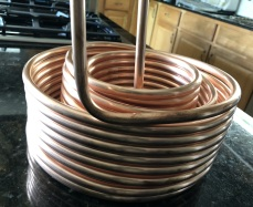 copper coils as received