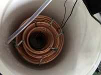 copper coils with spacers test fit