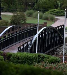 Cross Creek Park Bridge, Fayetteville, North Carolina