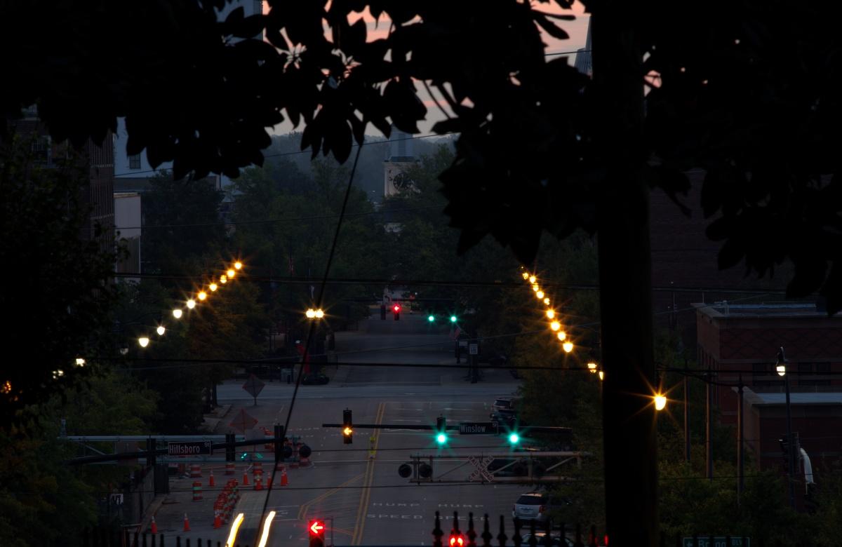 Photography ~ Dawn–Downtown Fayetteville, North Carolina,09/30