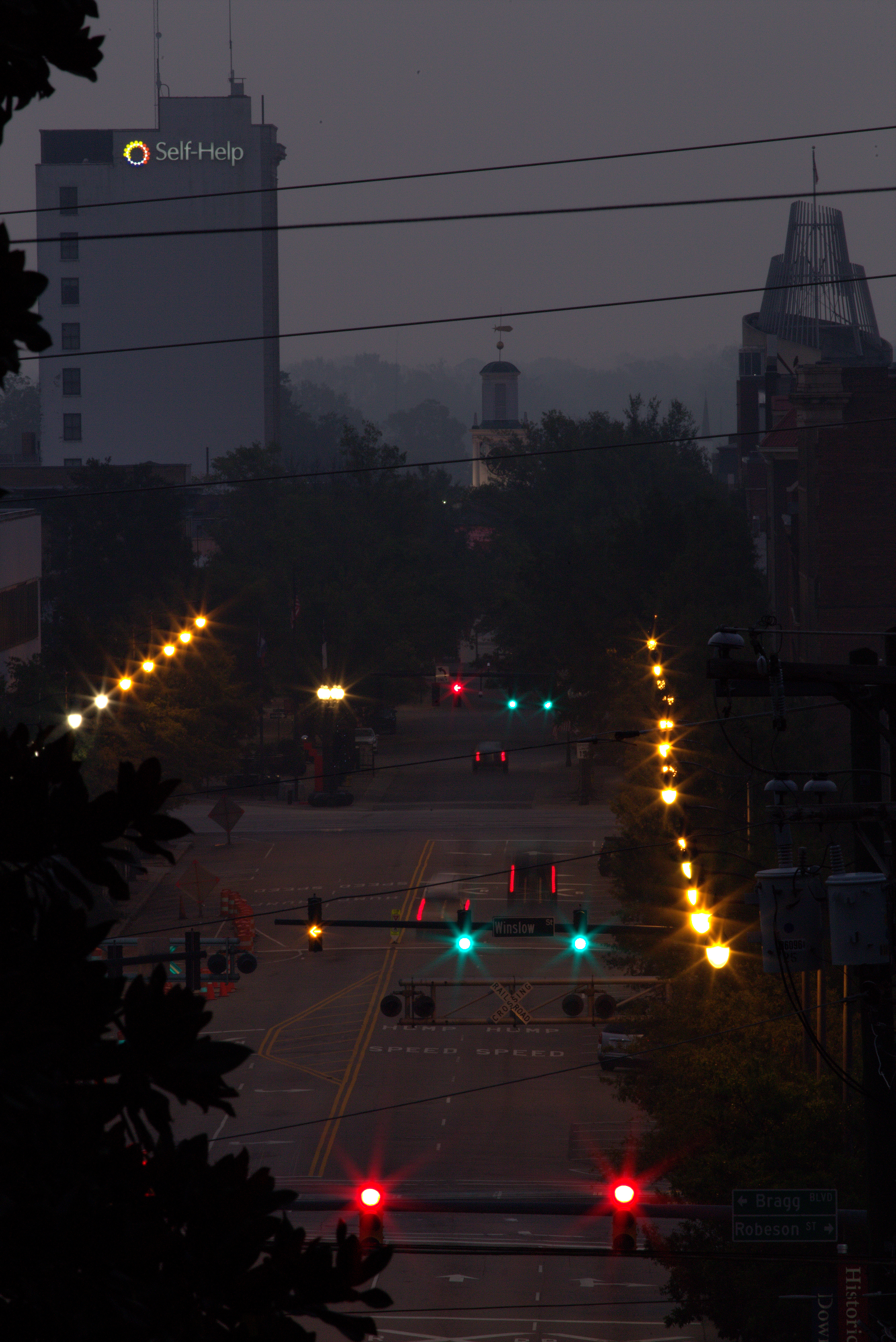 Photography ~ Dawn–Downtown Fayetteville, North Carolina, 10/07