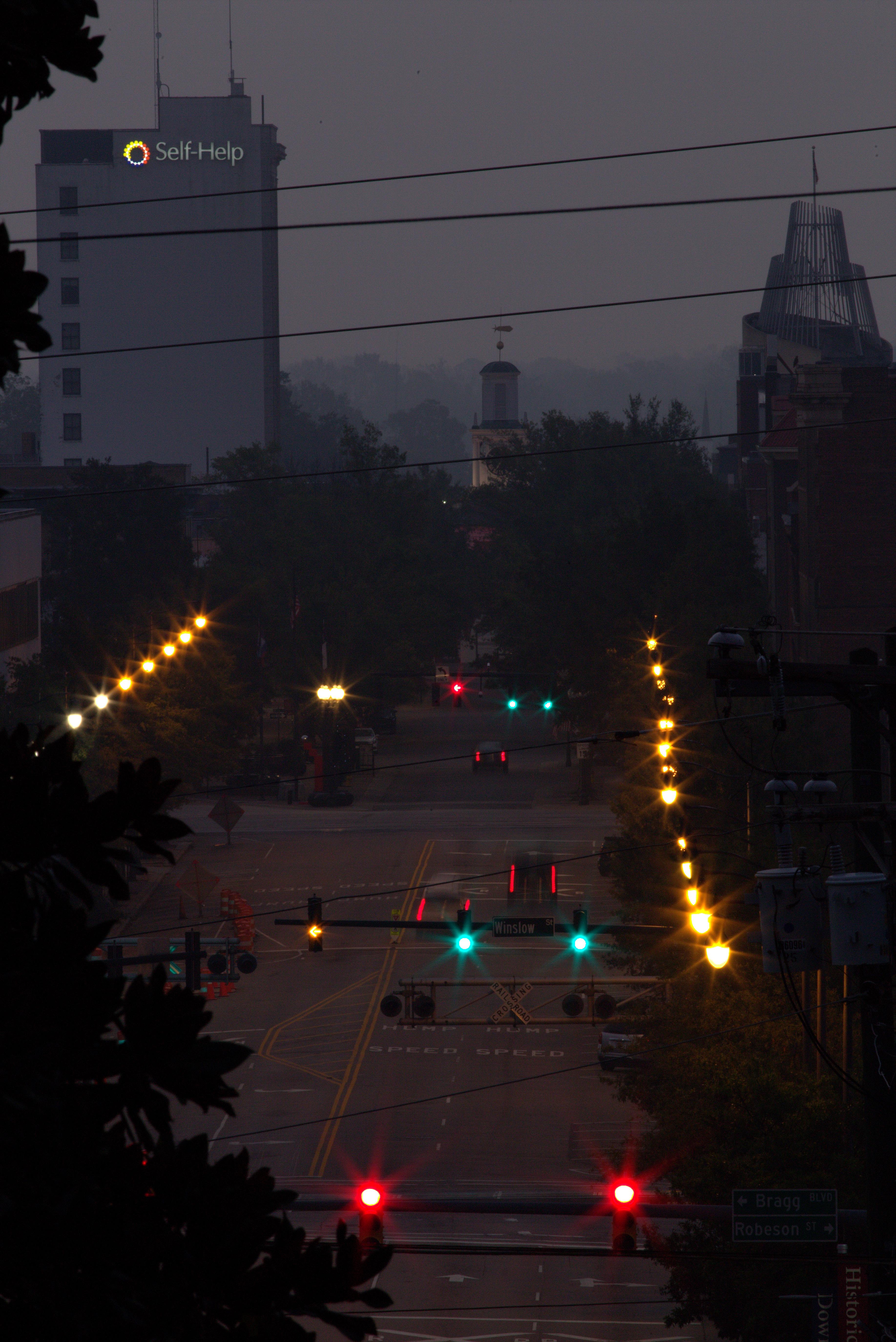 Photography ~ Dawn–Downtown Fayetteville, North Carolina, 10/07