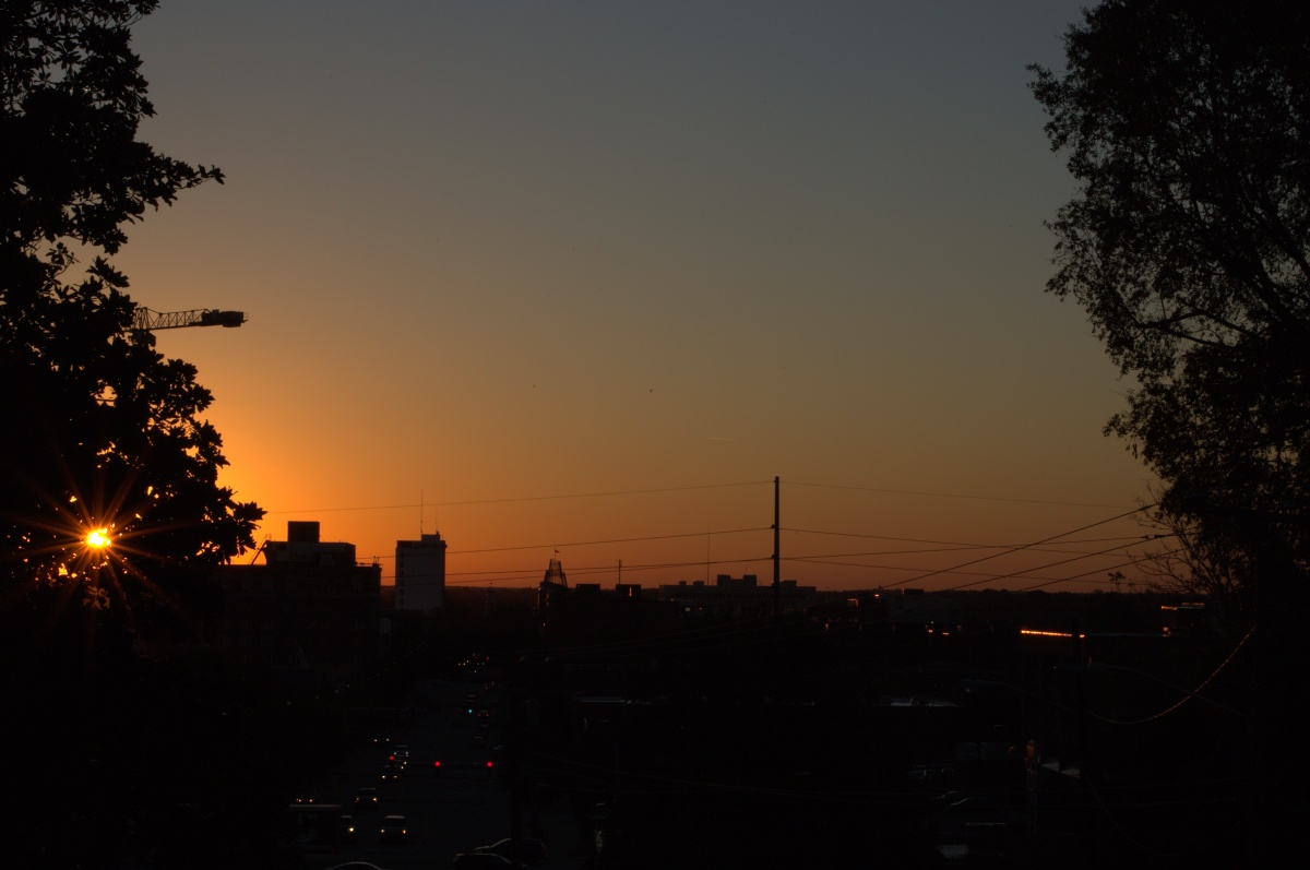 Photography ~ Dawn–Downtown Fayetteville, North Carolina,10/24