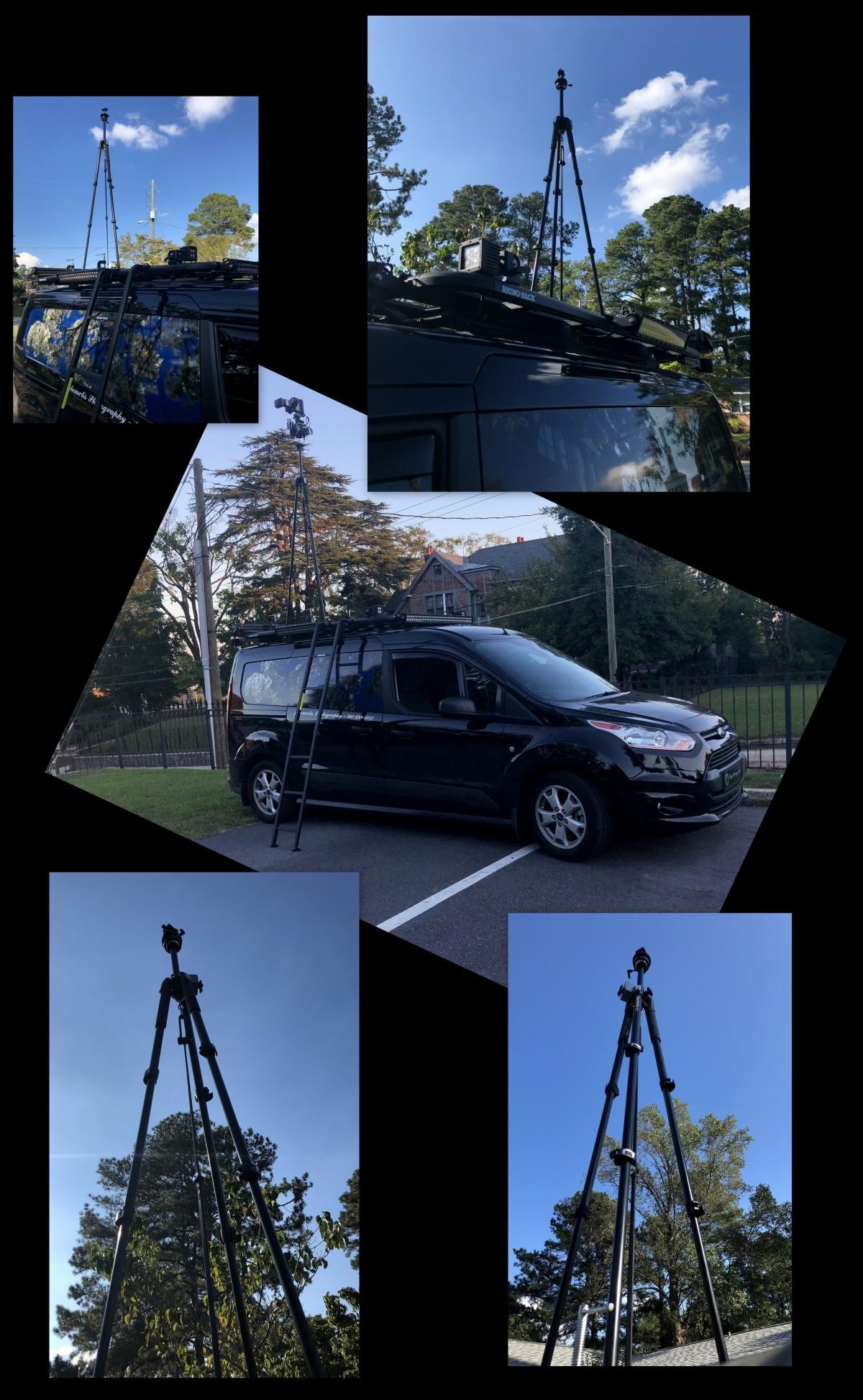 Photography ~ Yet, A Taller Tripod Atop The Van,10/07
