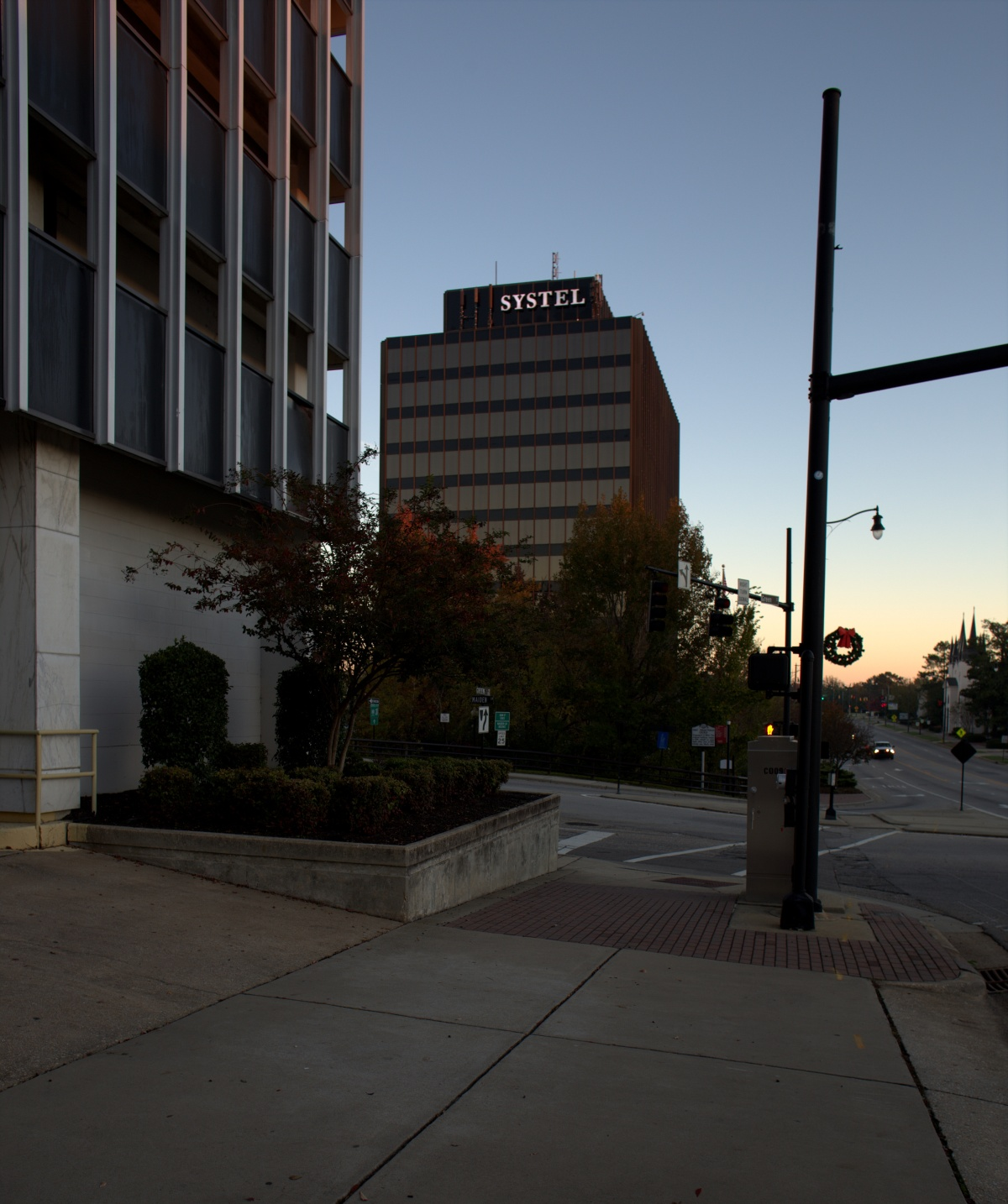 Photography ~ The Systel Building at Dawn, Downtown Fayetteville, North Carolina, 11/17