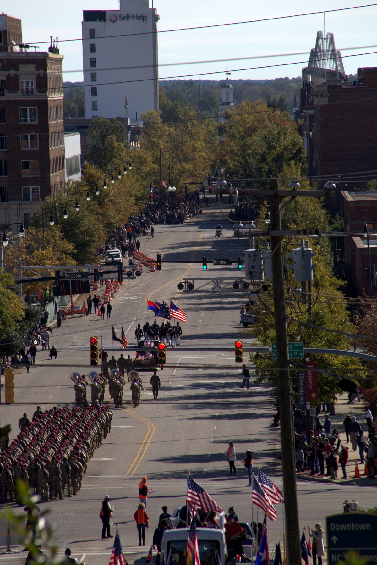 Photography ~ 2018 Veterans Day Parade, Fayetteville, North Carolina, 11/10