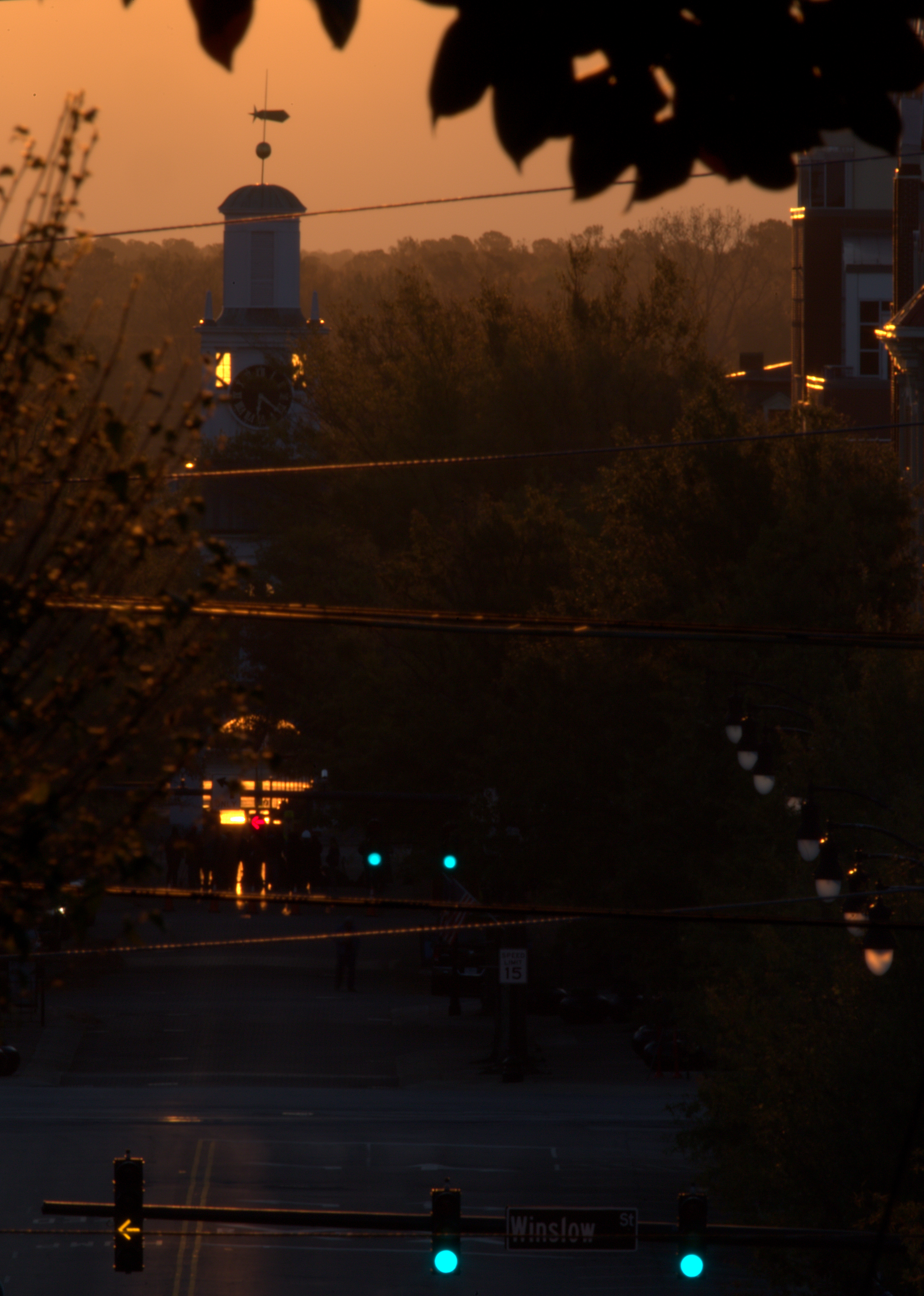 Photography ~ Veterans Day Sunrise at The Market House, Fayetteville, North Carolina, 11/11